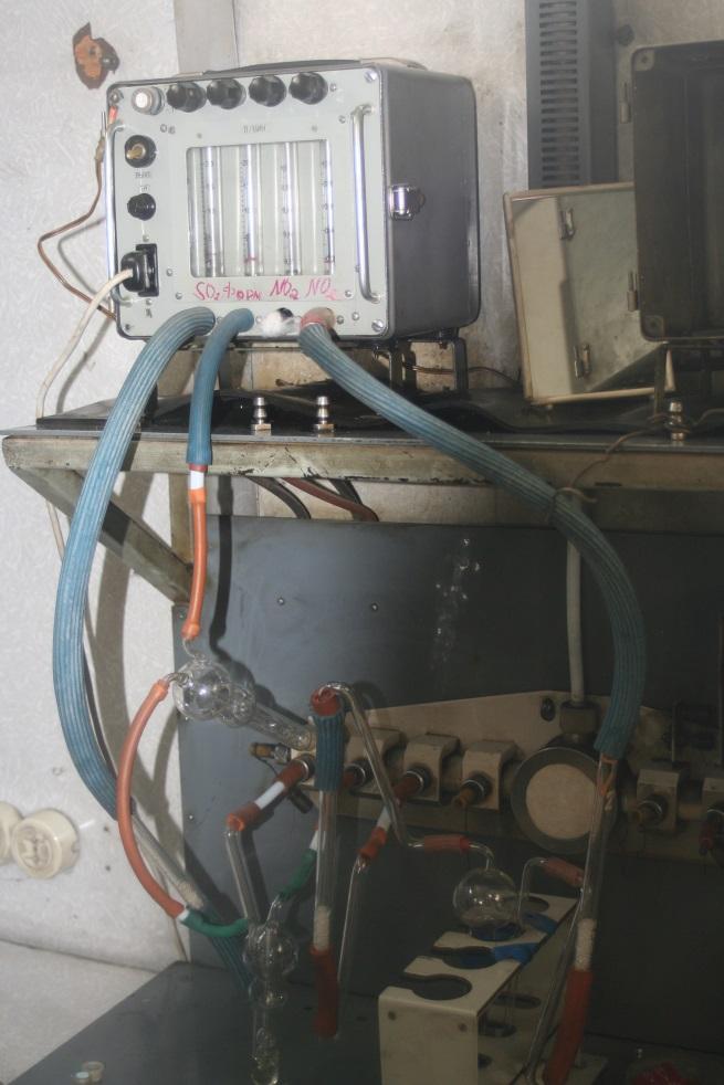 Vanhalla mittausasemalla käytettiin vielä tällaisia menetelmiä. Kuva: Pia Anttila