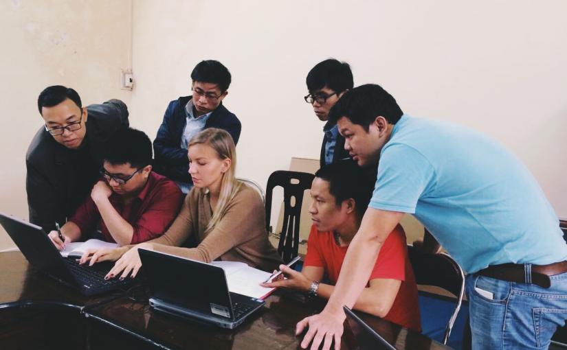 Piece of Cake: Meteorologi IT-asiantuntijan saappaissa Vietnamissa