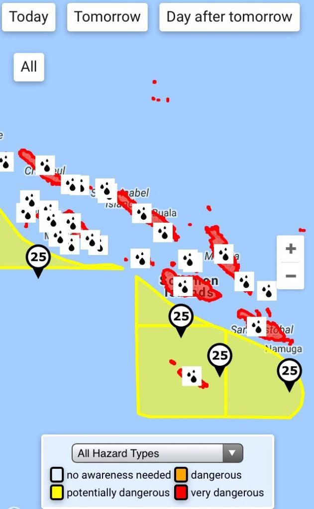 SmartAlertin lopputuote Salomonsaaten nettisivuilla