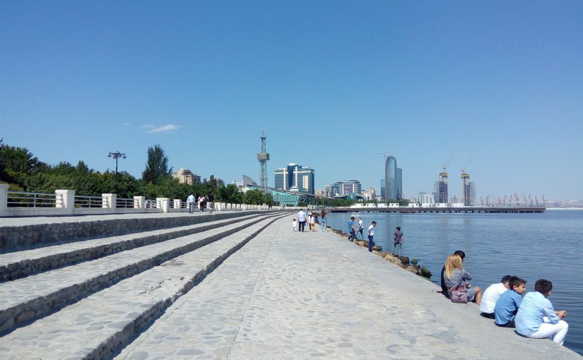 Koulutusmatkalla Azerbaidz…Bakussa